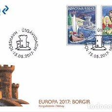 Sellos: FAROES ISLANDS 2017 - EUROPA 2017 FDC - FIRST DAY COVER. Lote 95322303