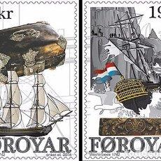 Sellos: FAROES ISLANDS 2016 - WESTERBEEK STAMP SET MNH. Lote 95322355