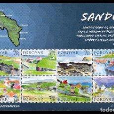 Timbres: FEROE 2006 - ISLA DE SANDOY - TURISMO - BLOCK. Lote 101093571