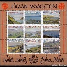 Sellos: FEROE 2005 - PINTURAS DE JOGVAN WAAGSTEN - YVERT Nº 522-523 . Lote 101094179