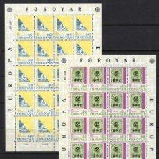 Sellos: FOROYAR - FAROER 1979 ** - EUROPA CEPT. Lote 107428476
