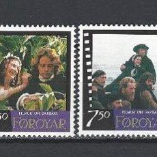 Sellos: FEROE 1997 - CINE - YVERT Nº 318-321**. Lote 119337647