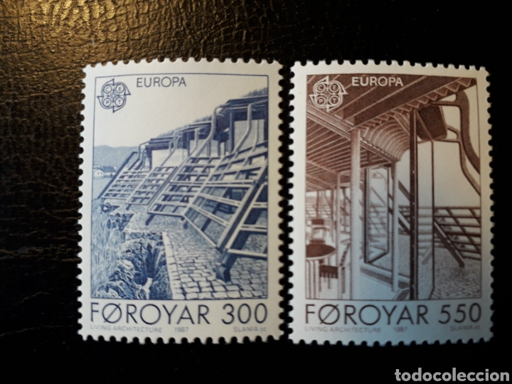 FEROE (DINAMARCA) YVERT 143/4. SERIE COMPLETA NUEVA SIN CHARNELA. EUROPA CEPT. (Sellos - Extranjero - Europa - Islas Feroe)