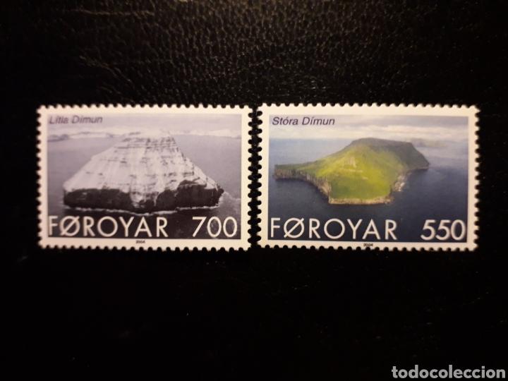FEROE (DINAMARCA) YVERT 479/80. SERIE COMPLETA NUEVA SIN CHARNELA. ISLAS (Sellos - Extranjero - Europa - Islas Feroe)