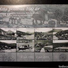 Sellos: FEROE (DINAMARCA) YVERT 458/65. SERIE COMPLETA NUEVA SIN CHARNELA. OFICINAS DE CORREOS. Lote 125017950