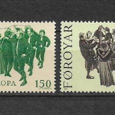 Sellos: ISLAS FEROE 1981 ** NUEVO 63-64 0.80 EUROPA CEPT - 3/8. Lote 155439090