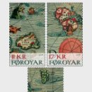 Sellos: FAROE ISLANDS 2019 - OLD MAPS STAMP SET MNH. Lote 157303978