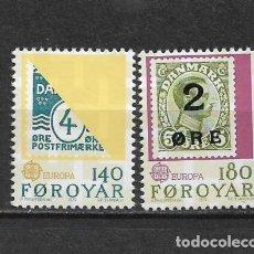 Sellos: ISLAS FEROE 1979 ** SC 43/44 - 5/45. Lote 168363544