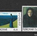 Sellos: ISLAS FEROE 1996 ** SC 302/303 EUROPA CEPT - 5/45. Lote 168364532