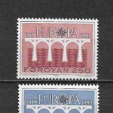 Sellos: ISLAS FEROE 1984 ** EUROPA CEPT - 5/46. Lote 168368472