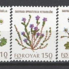 Francobolli: ISLAS FEROE 1980 - PLANTAS SILVESTRES, S.COMPLETA - SELLOS NUEVOS **. Lote 182115755