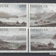 Timbres: ISLAS FEROE 1985 - PINTURAS DE EDWARD DAYES, S.COMPLETA - SELLOS NUEVOS **. Lote 182118668