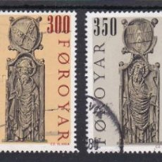 Sellos: ISLAS FEROE 1984 - SERIE COMPLETA MATASELLADA YVERT Nº 87/90. Lote 189488231