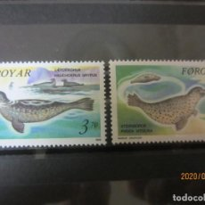 Sellos: FEROE 1992 2 V. NUEVO. Lote 193381265