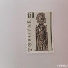 Sellos: ISLAS FEROE SELLO USADO . Lote 194289393