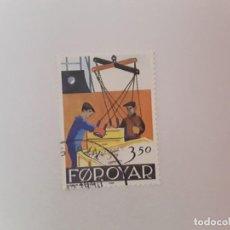 Sellos: ISLAS FEROE SELLO USADO . Lote 194289668