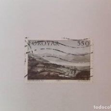 Sellos: ISLAS FEROE SELLO USADO . Lote 194289908