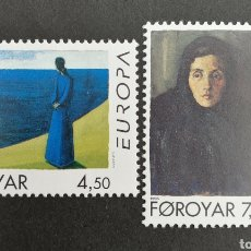 Sellos: ISLAS FEROE, EUROPA CEPT 1996 MNG, MUJERES CÉLEBRES (FOTOGRAFÍA REAL). Lote 203425795