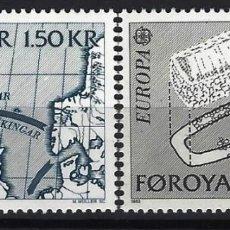 Sellos: ISLAS FEROE 1982 - EUROPA, ACONTECIMIENTOS HISTÓRICOS, S.COMPLETA - SELLOS NUEVOS **. Lote 210433281