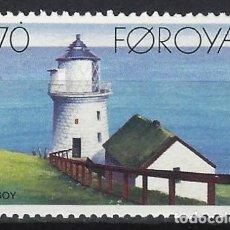 Timbres: ISLAS FEROE 1985 - FAROS, NOLSOY - SELLO NUEVO **. Lote 210433392