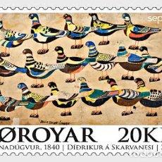 Sellos: FAROE ISLANDS 2020 - SEPAC 2020 MNH. Lote 214141288