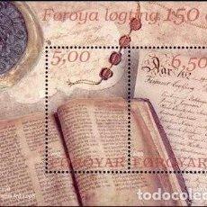 Sellos: ISLAS FEROE 2002 SCOTT 422 SELLO ** HB PARLAMENTO DE FAROE LIBRO MICHEL BL13 YVERT BF13 FOROIAR FARO. Lote 226983990
