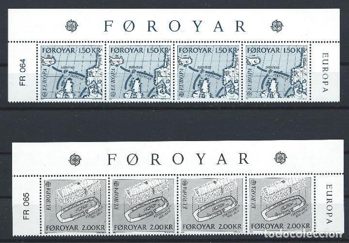 "FÉROÉ N°64/65** (MNH) 1982 - EUROPA ""FAITS HISTORIQUE"" (Sellos - Extranjero - Europa - Islas Feroe)"