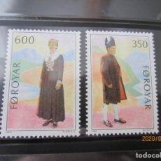 Sellos: FEROE 1989 - 2V. NUEVO. Lote 249369365