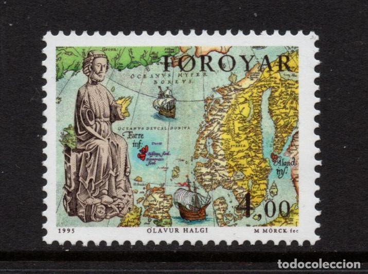 FEROE 281** - AÑO 1995 - HOMENAJE A SAN OLAV (Sellos - Extranjero - Europa - Islas Feroe)