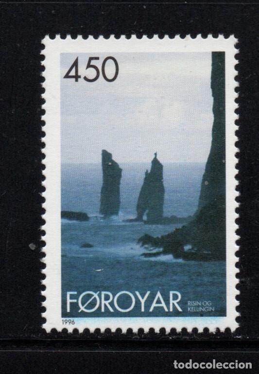 FEROE 287** - AÑO 1996 - PAISAJES (Sellos - Extranjero - Europa - Islas Feroe)