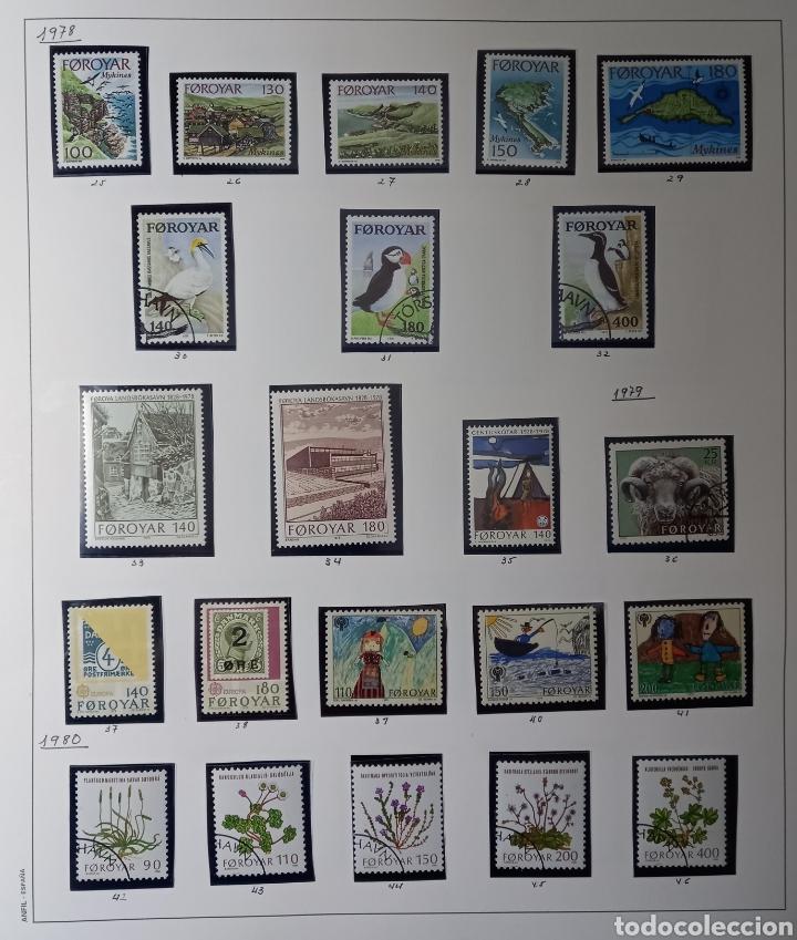 Sellos: Colección de sellos de Islas Feroe muy completa hasta el 95, y preparada hasta el 07 Album Anfil - Foto 2 - 260766960