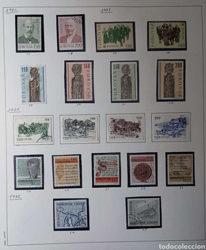 Sellos: Colección de sellos de Islas Feroe muy completa hasta el 95, y preparada hasta el 07 Album Anfil - Foto 3 - 260766960