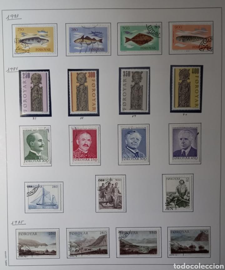 Sellos: Colección de sellos de Islas Feroe muy completa hasta el 95, y preparada hasta el 07 Album Anfil - Foto 5 - 260766960