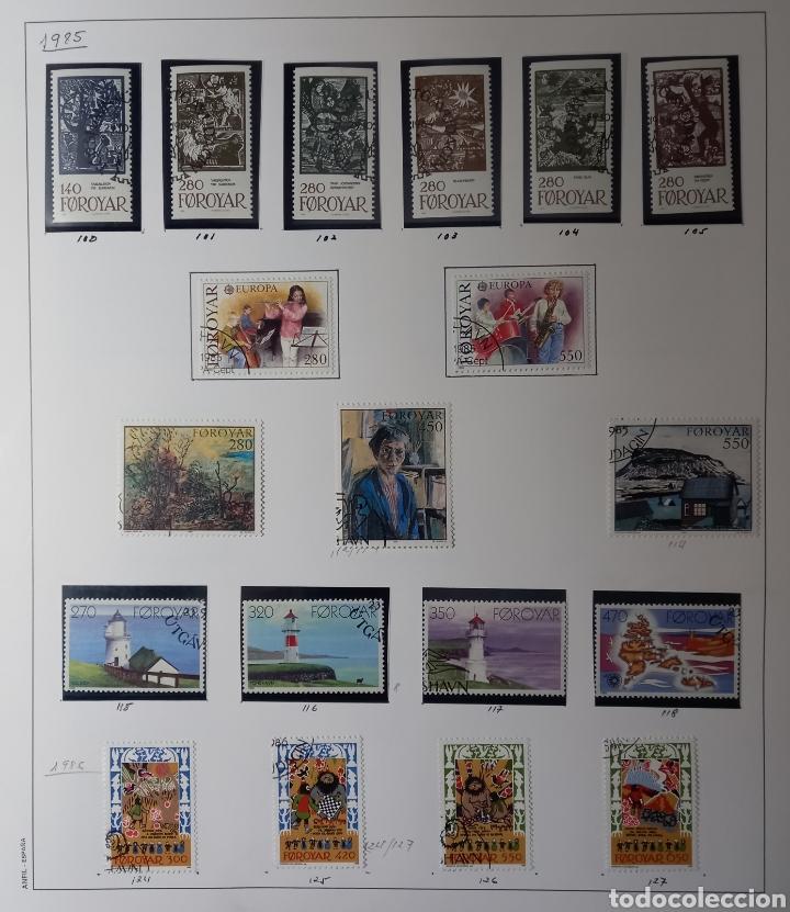 Sellos: Colección de sellos de Islas Feroe muy completa hasta el 95, y preparada hasta el 07 Album Anfil - Foto 6 - 260766960