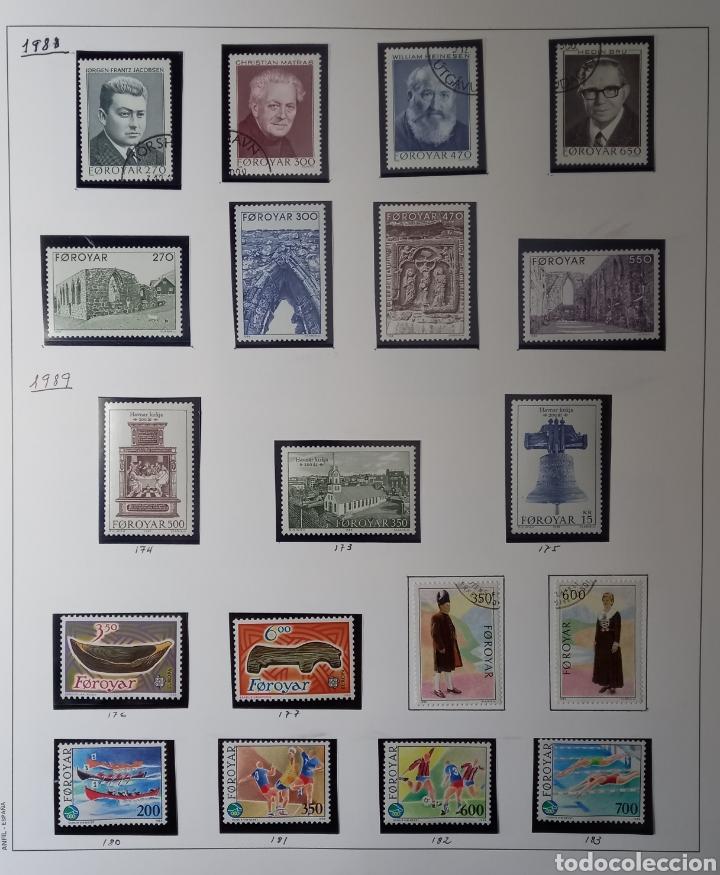 Sellos: Colección de sellos de Islas Feroe muy completa hasta el 95, y preparada hasta el 07 Album Anfil - Foto 7 - 260766960