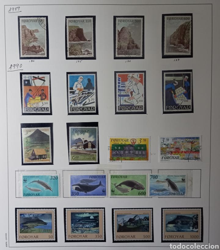 Sellos: Colección de sellos de Islas Feroe muy completa hasta el 95, y preparada hasta el 07 Album Anfil - Foto 8 - 260766960