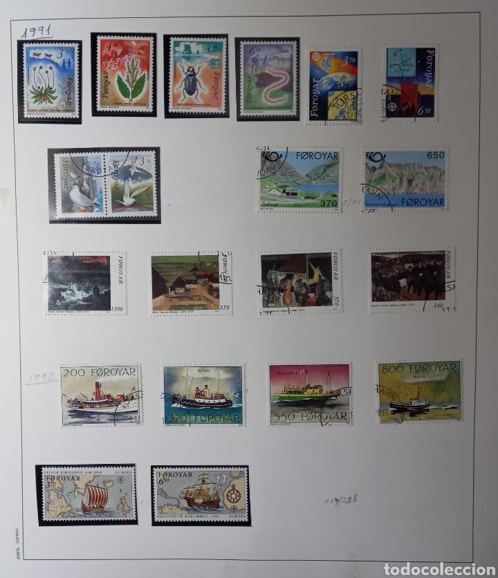 Sellos: Colección de sellos de Islas Feroe muy completa hasta el 95, y preparada hasta el 07 Album Anfil - Foto 9 - 260766960