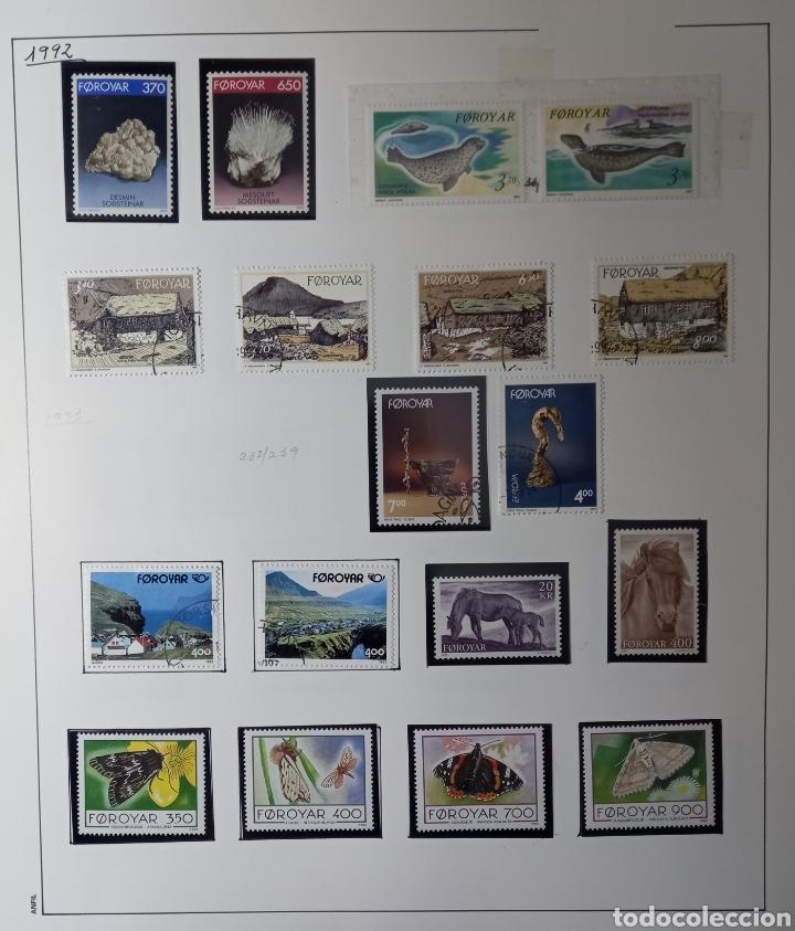 Sellos: Colección de sellos de Islas Feroe muy completa hasta el 95, y preparada hasta el 07 Album Anfil - Foto 10 - 260766960
