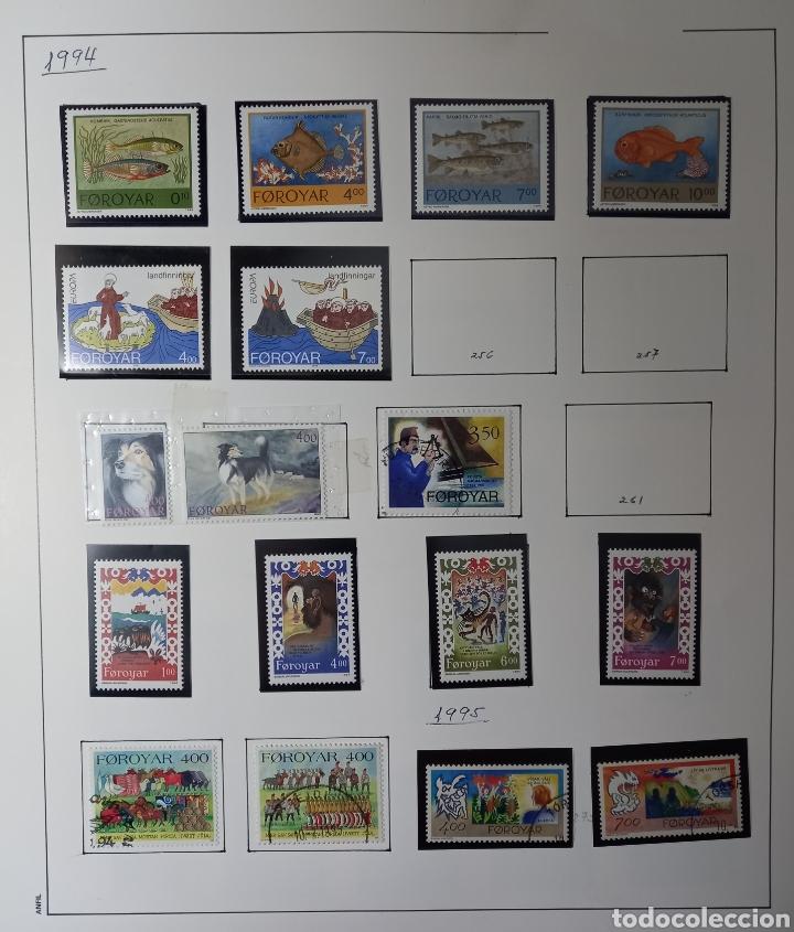 Sellos: Colección de sellos de Islas Feroe muy completa hasta el 95, y preparada hasta el 07 Album Anfil - Foto 11 - 260766960