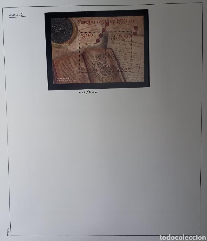 Sellos: Colección de sellos de Islas Feroe muy completa hasta el 95, y preparada hasta el 07 Album Anfil - Foto 15 - 260766960