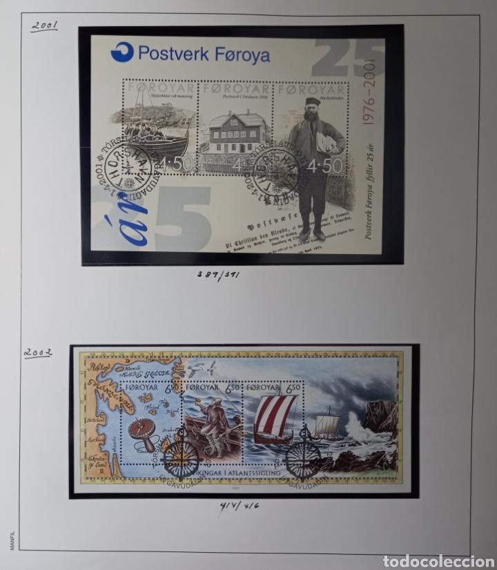 Sellos: Colección de sellos de Islas Feroe muy completa hasta el 95, y preparada hasta el 07 Album Anfil - Foto 16 - 260766960