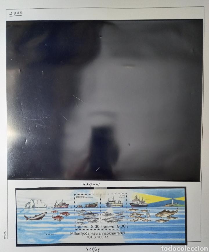 Sellos: Colección de sellos de Islas Feroe muy completa hasta el 95, y preparada hasta el 07 Album Anfil - Foto 17 - 260766960