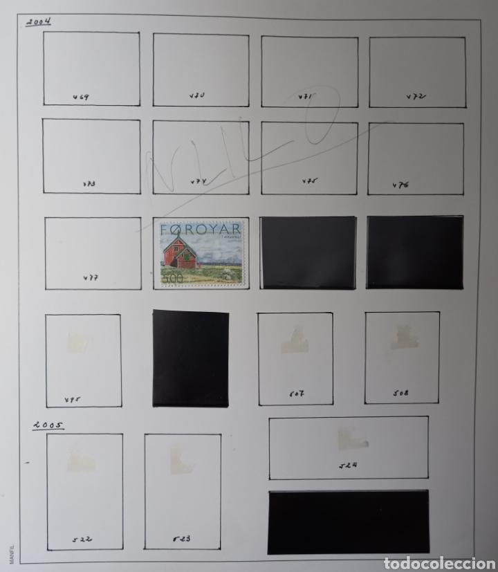 Sellos: Colección de sellos de Islas Feroe muy completa hasta el 95, y preparada hasta el 07 Album Anfil - Foto 22 - 260766960