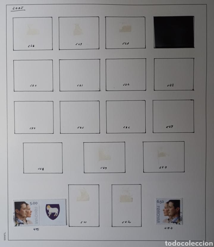 Sellos: Colección de sellos de Islas Feroe muy completa hasta el 95, y preparada hasta el 07 Album Anfil - Foto 24 - 260766960
