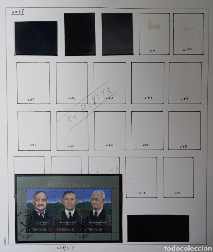Sellos: Colección de sellos de Islas Feroe muy completa hasta el 95, y preparada hasta el 07 Album Anfil - Foto 29 - 260766960