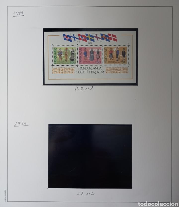 Sellos: Colección de sellos de Islas Feroe muy completa hasta el 95, y preparada hasta el 07 Album Anfil - Foto 31 - 260766960