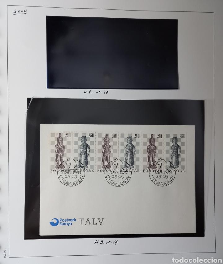 Sellos: Colección de sellos de Islas Feroe muy completa hasta el 95, y preparada hasta el 07 Album Anfil - Foto 39 - 260766960