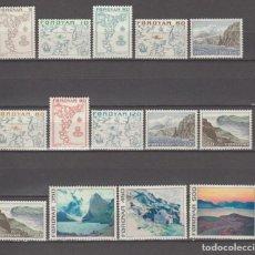 Sellos: ISLAS FEROE, 1975.. Lote 263786900