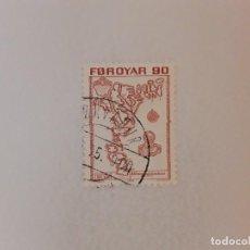 Timbres: AÑO 1975 ISLAS FEROE SELLO USADO. Lote 275195023
