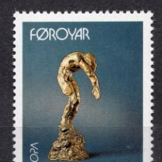 Sellos: ISLAS FAROE, 1993 EUROPA , MICHEL 248. Lote 291573803